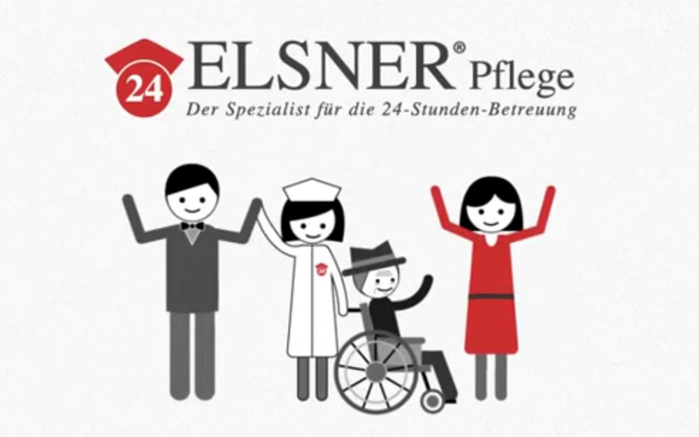 Elsner Pflege - 24 Stunden Betreuung Video